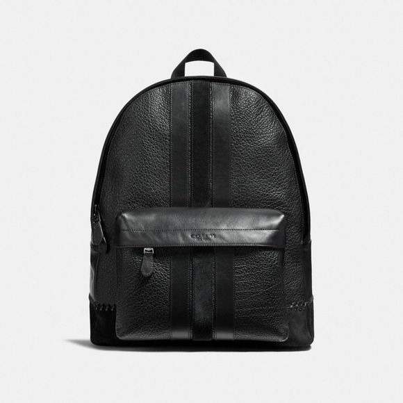 54aed74ea057 Coach F11250 Charles Backpack with Baseball Stitch